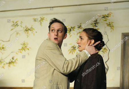 Leo Bill ( Petrell ) and Cara Horgan ( Irene )