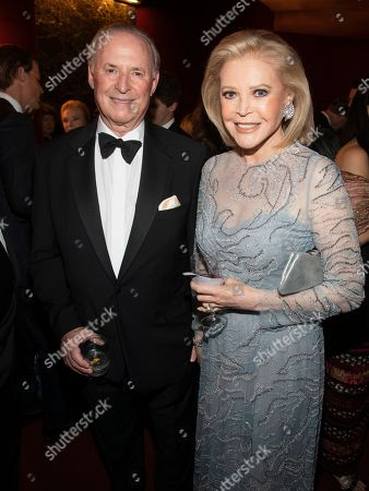 Martin Gruss, Audrey Gruss. Honorees Martin Gruss, left, and Audrey Gruss, right, attend the Lincoln Center for the Performing Arts 60th Anniversary Diamond Jubilee Gala at Hearst Plaza, in New York