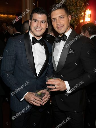 Gio Benitez, Tommy DiDario. Gio Benitez, left, and Tommy DiDario, right, attend the Lincoln Center for the Performing Arts 60th Anniversary Diamond Jubilee Gala at Hearst Plaza, in New York