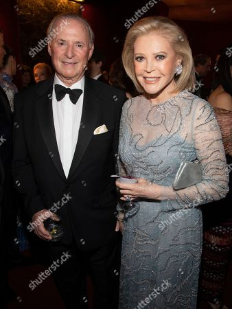 Martin Gruss, Audrey Gruss. Honorees Martin Gruss, left, and Audrey Gruss attend the Lincoln Center for the Performing Arts 60th Anniversary Diamond Jubilee Gala at Hearst Plaza, in New York