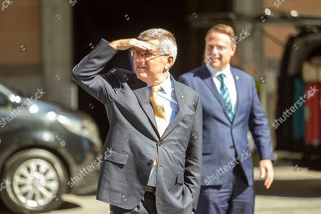 Editorial photo of IOC president Thomas Bach visits Australia, Brisbane - 06 May 2019