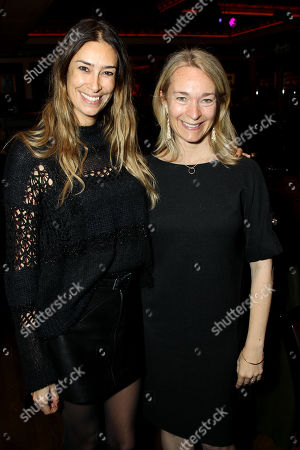 Celine Rattray (R) with Guest