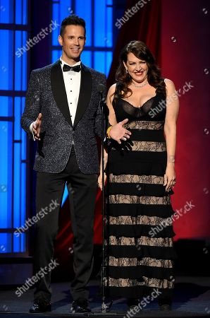 David Osmond and Joely Fisher