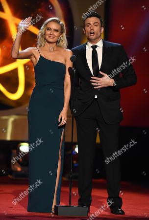 Melissa Ordway and Daniel Goddard