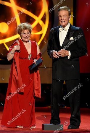 Anita Gillette and Wink Martindale
