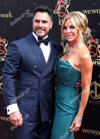 Stock Picture of Don Diamont and Cindy Ambuehl