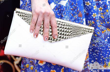 Stock Image of Kate Mansi, bag detail