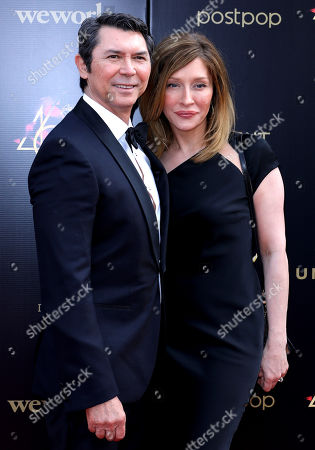 Lou Diamond Phillips and Yvonne Boismier Phillips
