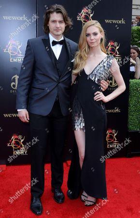 Stock Photo of Morgan McClellan and Chloe Lanier