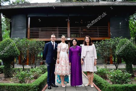 Editorial image of Crown Princess Victoria and Prince Daniel visit to Vietnam - 06 May 2019