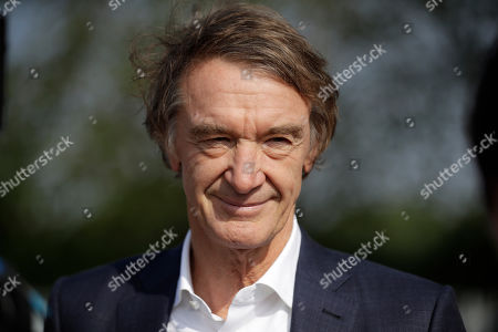 Britain's richest person Jim Ratcliffe, the founder of the INEOS Chemicals company, is interviewed by The Associated Press at the Iffley Road Track, where in 1954 British athlete Roger Bannister ran to become the first person ever to break the four minute mile barrier in Oxford, England, . Marathon world record holder Kenya's Eliud Kipchoge has funding from Britain's richest man, Jim Ratcliffe, who founded chemicals group INEOS, for his bid to break the two-hour marathon barrier again later this year