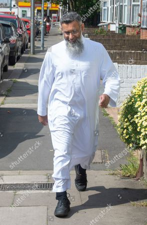 Anjem Choudary near his home in East London