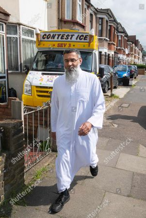 Anjem Choudary near his home in East London.