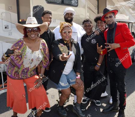 Gramma Funk, Yo-Yo, DJ BattleCat, Mark Knoxx