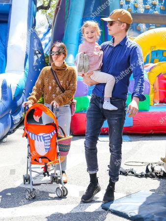 Rachel Bilson, Hayden Christensen and daughter Briar Rose Christensen