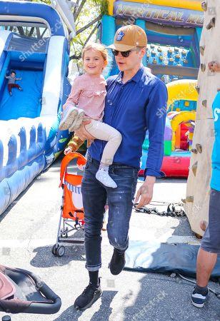 Hayden Christensen and daughter Briar Rose Christensen
