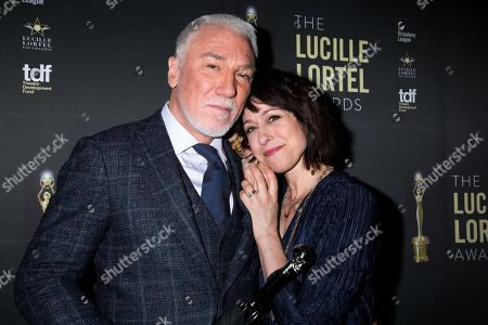 Stock Picture of Patrick Page, Paige Davis