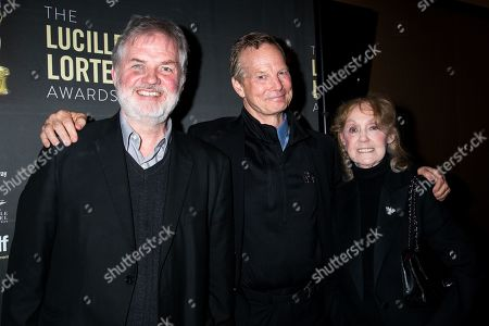 Stock Image of Ciaran O'Reilly, Bill Irwin, Charlotte Moore