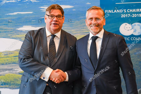 Editorial picture of 11th Arctic Council Ministerial Meeting in Rovaniemi, Finland - 06 May 2019