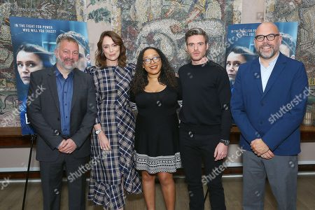 Jed Mercurio (Writer), Keeley Hawes, Ariana Romero, Richard Madden, Simon Heath (Executive Producer)
