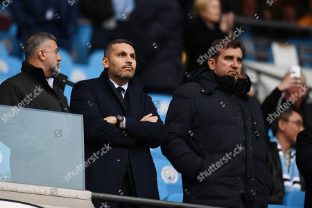 Khaldoon Al Mubarak Chairman of Manchester City and Ferran Soriano Chief Executive Officer of Manchester City