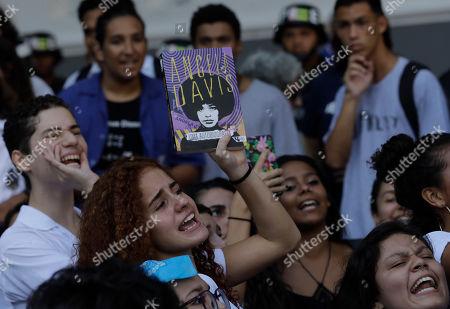 Editorial photo of Student Protest, Rio de Janeiro, Brazil - 06 May 2019