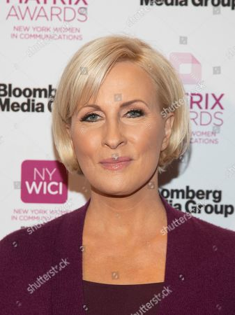 Mika Brzezinski attends the Matrix Awards at the Sheraton New York Times Square, in New York