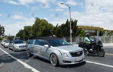 Editorial image of John Singleton Funeral, Los Angeles, USA - 06 May 2019