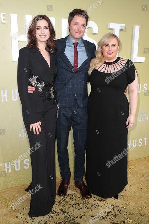 Anne Hathaway, Chris Addison and Rebel Wilson