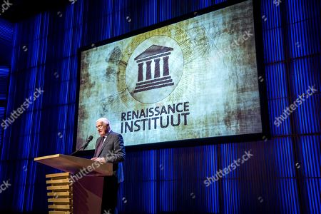 Editorial picture of Annual lecture of Renaissance Institute in Amsterdam, Netherlands - 06 May 2019
