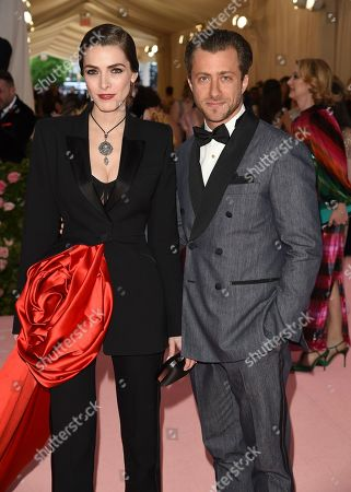 "Bee Shaffer, Francesco Carrozzini. Bee Shaffer and Francesco Carrozzini attend The Metropolitan Museum of Art's Costume Institute benefit gala celebrating the opening of the ""Camp: Notes on Fashion"" exhibition, in New York"