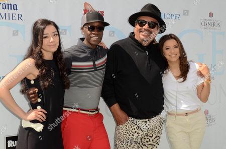Aimee Garcia, Don Cheadle, George Lopez, Eva Longoria