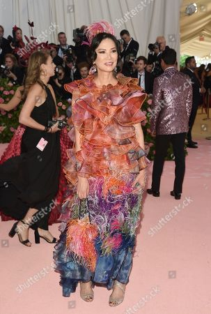 "Wendi Deng Murdoch attends The Metropolitan Museum of Art's Costume Institute benefit gala celebrating the opening of the ""Camp: Notes on Fashion"" exhibition, in New York"