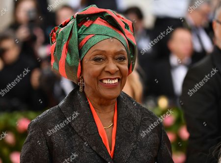 "Bethann Hardison attends The Metropolitan Museum of Art's Costume Institute benefit gala celebrating the opening of the ""Camp: Notes on Fashion"" exhibition, in New York"