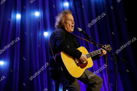 "Stock Image of Don McLean performs during a taping of Dolly Parton's Smoky Mountain Rise Telethon in Nashville, Tenn. A lifetime achievement award has been offered and rescinded for ""American Pie"" singer McLean. The 73-year-old announced, that he would receive the George and Ira Gershwin Award for Lifetime Musical Achievement, presented by the Student Alumni Association of University of California, Los Angeles, on May 17. Past recipients included Julie Andrews, Brian Wilson, Ella Fitzgerald and Ray Charles"