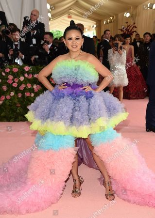 """Nichapat Suphap attends The Metropolitan Museum of Art's Costume Institute benefit gala celebrating the opening of the """"Camp: Notes on Fashion"""" exhibition, in New York"""