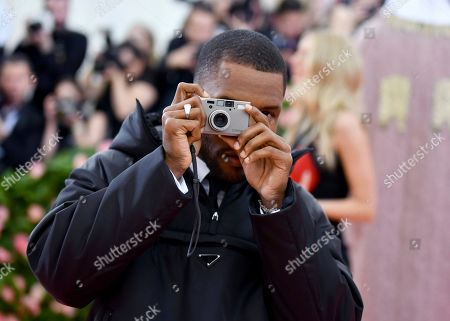 """Frank Ocean attends The Metropolitan Museum of Art's Costume Institute benefit gala celebrating the opening of the """"Camp: Notes on Fashion"""" exhibition, in New York"""