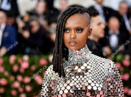 """Kelela attends The Metropolitan Museum of Art's Costume Institute benefit gala celebrating the opening of the """"Camp: Notes on Fashion"""" exhibition, in New York"""
