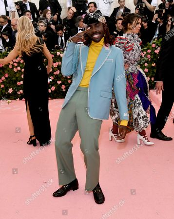 "Dev Hynes attends The Metropolitan Museum of Art's Costume Institute benefit gala celebrating the opening of the ""Camp: Notes on Fashion"" exhibition, in New York"