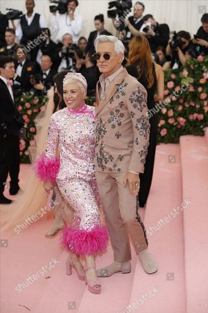 Baz Luhrmann and costume designer Catherine Martin (L) arrive on the red carpet for the 2019 Met Gala, the annual benefit for the Metropolitan Museum of Art's Costume Institute, in New York, New York, USA, 06 May 2019. The event coincides with the Met Costume Institute's new spring 2019 exhibition, 'Camp: Notes on Fashion', which runs from 09 May until 08 September 2019.