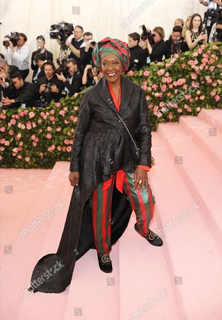 Bethann Hardison arrives on the red carpet for the 2019 Met Gala, the annual benefit for the Metropolitan Museum of Art's Costume Institute, in New York, New York, USA, 06 May 2019. The event coincides with the Met Costume Institute's new spring 2019 exhibition, 'Camp: Notes on Fashion', which runs from 09 May until 08 September 2019.