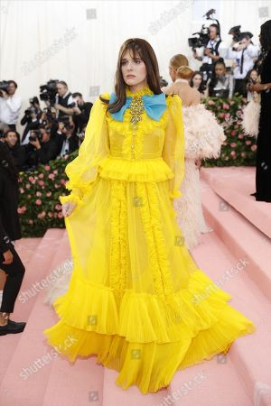 Hari Nef arrives on the red carpet for the 2019 Met Gala, the annual benefit for the Metropolitan Museum of Art's Costume Institute, in New York, New York, USA, 06 May 2019. The event coincides with the Met Costume Institute's new spring 2019 exhibition, 'Camp: Notes on Fashion', which runs from 09 May until 08 September 2019.