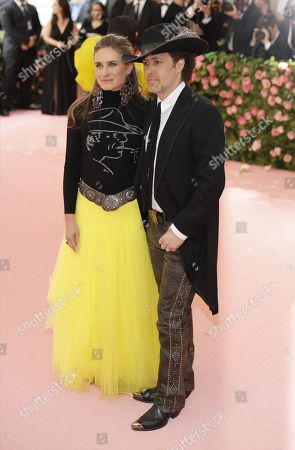 Lauren Bush Lauren and David Lauren arrive on the red carpet for the 2019 Met Gala, the annual benefit for the Metropolitan Museum of Art's Costume Institute, in New York, New York, USA, 06 May 2019. The event coincides with the Met Costume Institute's new spring 2019 exhibition, 'Camp: Notes on Fashion', which runs from 09 May until 08 September 2019.