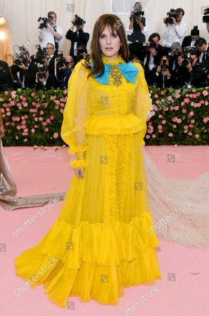 """Hari Nef attends The Metropolitan Museum of Art's Costume Institute benefit gala celebrating the opening of the """"Camp: Notes on Fashion"""" exhibition, in New York"""