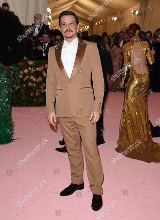 "Pedro Pascal attends The Metropolitan Museum of Art's Costume Institute benefit gala celebrating the opening of the ""Camp: Notes on Fashion"" exhibition, in New York"