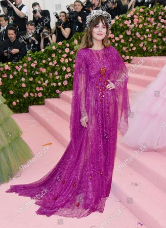 """Dakota Johnson attends The Metropolitan Museum of Art's Costume Institute benefit gala celebrating the opening of the """"Camp: Notes on Fashion"""" exhibition, in New York"""