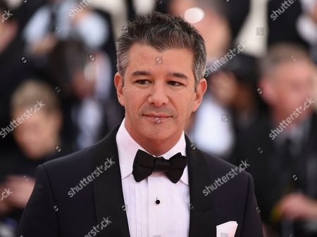 "Travis Kalanick attends The Metropolitan Museum of Art's Costume Institute benefit gala celebrating the opening of the ""Camp: Notes on Fashion"" exhibition, in New York"