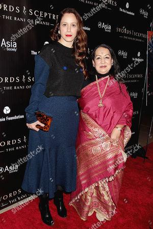 Jodhi May and Swati Bhise
