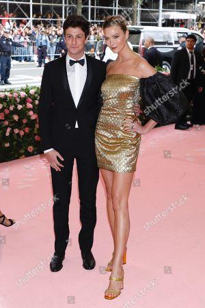 Joshua Kushner and Karlie Kloss