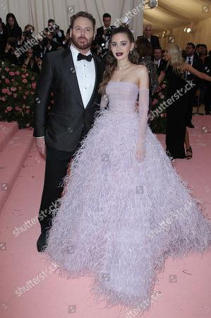 Sean Parker and Alexandra Lenas Parker
